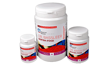 New from Aquarium Münster: DR. BASSLEER BIOFISH FOOD FUCO