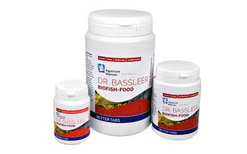 Neu von Aquarium Münster: DR. BASSLEER BIOFISH FOOD BETTER TABS